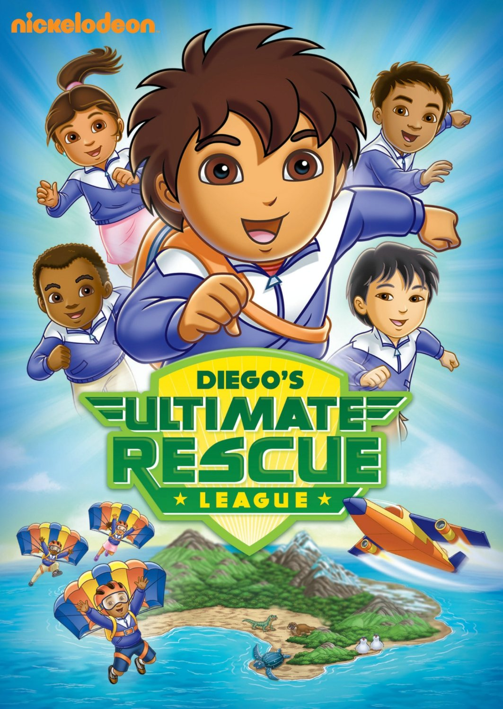 image go diego go diegos ultimate rescue league dvd