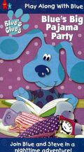 Blue'sPajamaPartyReissueVHS