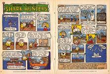 Nickelodeon Magazine Grampa Julie Shark Hunters Episode 1 October 1999