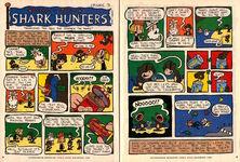 Nickelodeon Magazine Grampa Julie Shark Hunters Episode 3 December 1999