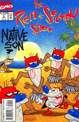 File:Ren and Stimpy issue 9.jpg