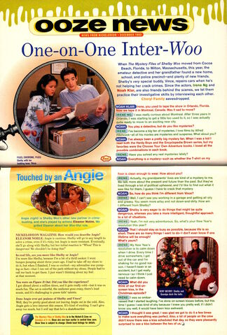 File:Nickelodeon Magazine Ooze News December 1998 Mystery Files of Shelby Woo interview.jpg