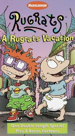Rugrats Vacation VHS