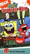 SpongeBobVHS SpongeForHire