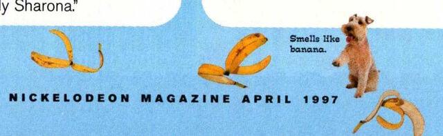 File:Zelda Van Gutters April 1997 bottom of page smells like banana.jpg