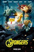 Spoof poster spongebob