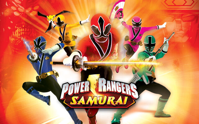 File:Power Rangers Samurai 5 Rangers Only.jpg
