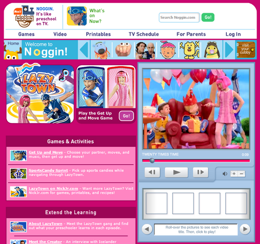 File:Nickelodeon Nick Jr. LazyTown Lazy Town Noggin com Image.png