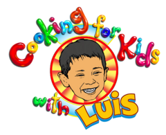 Nick Jr. Noggin Cooking for Kids with Luis Logo Original