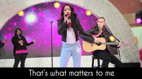 """Keke Palmer """"Stand Out"""" - Rags (Lyric Video)"""