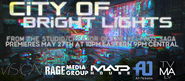 City of bright lights billboard