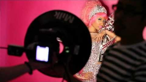 Nicki Minaj OPI Photoshoot Behind The Scenes