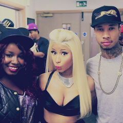 Misha B,Nicki Minaj and Tyga