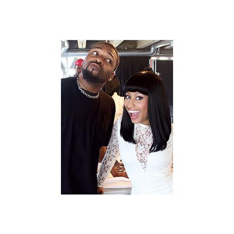Minaj and <a href=