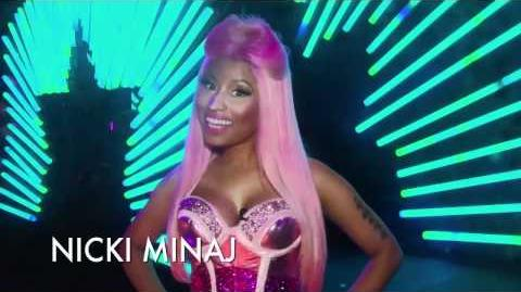 NICKI MINAJ PEPSI COMMERCIAL - FIRST LOOK