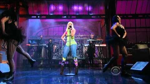 Nicki Minaj on Letterman