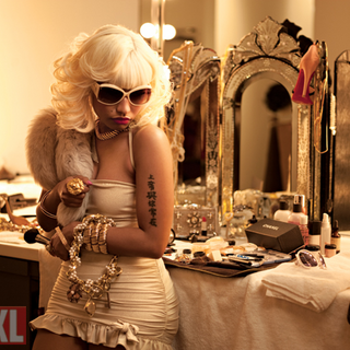 Shoot from <i>XXL Magazine</i> photo shoot featuring Boss.