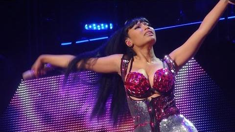 Nicki Minaj - Pound The Alarm (Brussels, Belgium - The Pink Print Tour, Palais 12 - HD)