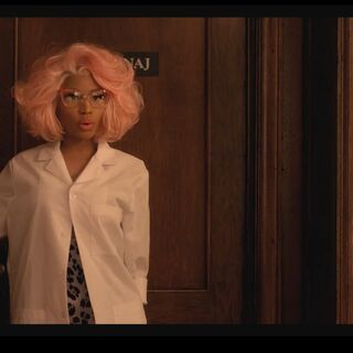 <i>Nicki as Dr. Minaj</i>