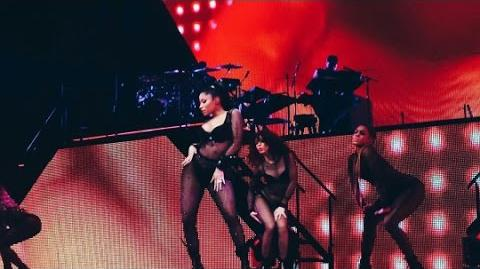 Nicki Minaj The Pinkprint Tour 2015 Full Concert