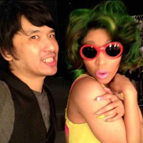 Nicki Minaj and Howard Huang