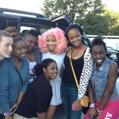 Nicki and fans on Day 5