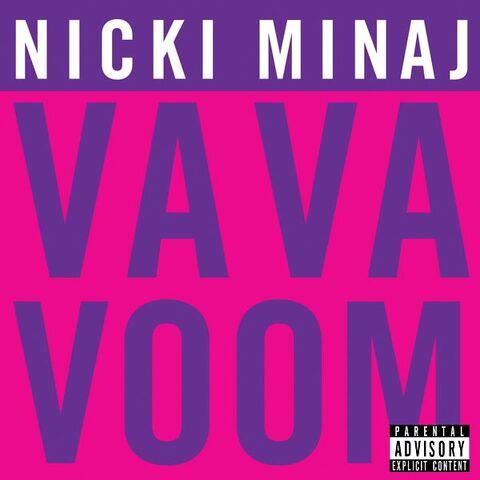 File:Nicki Minaj - Va Va Voom (CD cover).jpg