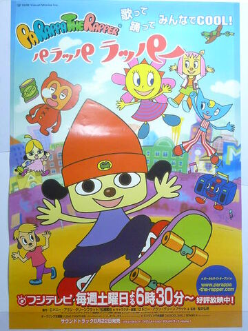 File:PaRappa The Rapper Anime Poster.jpg