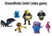 Dreamworks Unite! (video game)