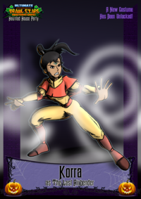 Nicktoons korra halloween costume by neweraoutlaw-d5unu3v
