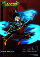 Nicktoons azula alternate artwork by neweraoutlaw-d5cod11