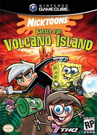 Nicktoons - Battle for Volcano Island Coverart