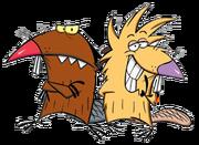Dagget & Norbet Beaver