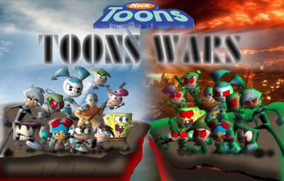 NICK TOONS WARS Final Confront by mayozilla