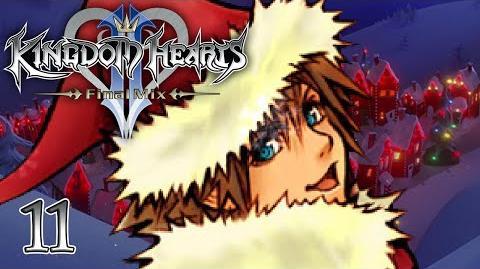 SANDY CLAWS - Let's Play - Kingdom Hearts 2 Final Mix HD - 11 - Walkthrough Playthrough