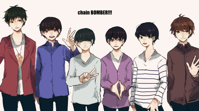 File:ChainBOMBER 1stlive.png
