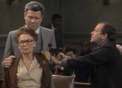 Night Court episode = 3x2 - Mr. Slotkin's hostages