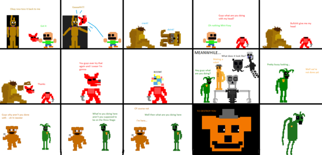 File:Pixel FNaF Comic Lots o' Destruction.png