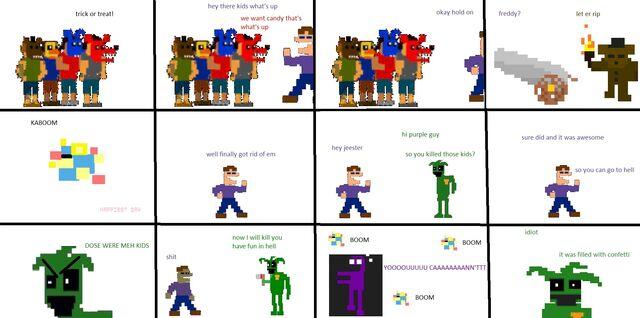 File:Pixel FNaF Comic The Guns.jpg