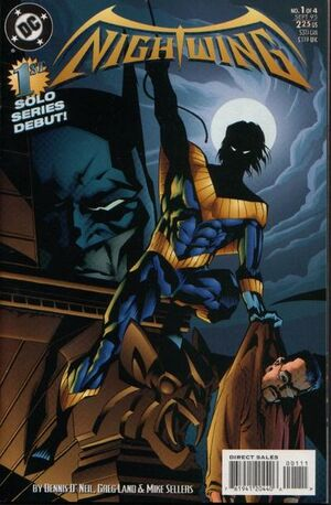 Nightwing issue 1 Cover