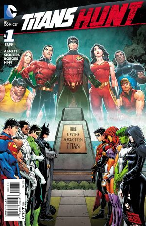 Titans Hunt 1 Cover