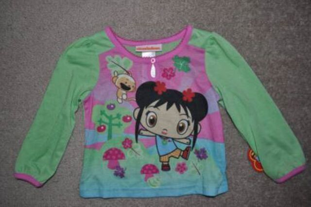 File:Girls Nick Ni Hao Kai-Lan 2 Pc Green Long Sleeve Top & Pants Pajamas (4).jpg