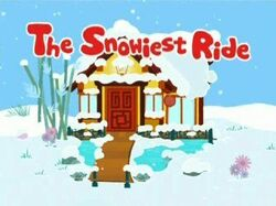 Snowiest Ride-Title Card