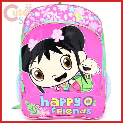 File:Qiyun Ni Hao Kai LAN School Backpack 16 Large Bag Happy Friends Pink.jpg