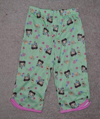 File:Girls Nick Ni Hao Kai-Lan 2 Pc Green Long Sleeve Top & Pants Pajamas (2).jpg