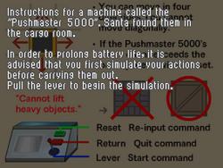 Pushmaster 5000 Instructions