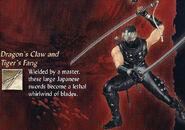 NG2 Render Char Ryu 02 Weapon 3DCTF
