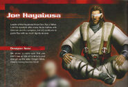 NG3 Joe Hayabusa Render With Notes