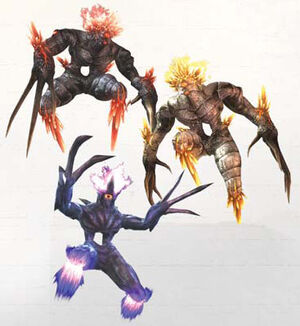 NG2 Render Enemy LesserFiend Many