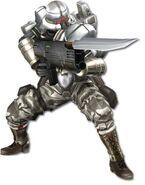Enemy Soldier White 048
